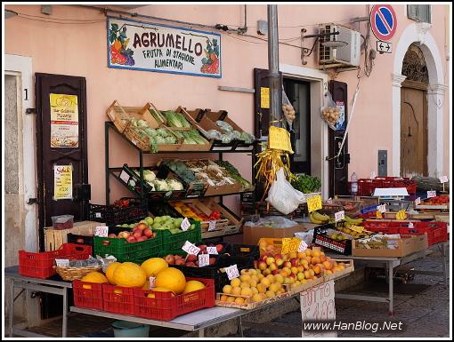 Italien Früchte Rodi Markt