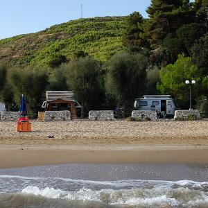 Mit VW T3 Bus und Eriba Troll Wohnwagen in Italien – der Aufenthalt