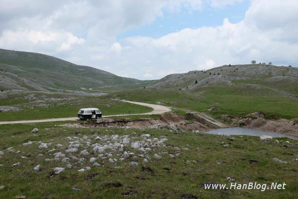 Mit dem VW T3 in Bosnien und Herzegowina Camping